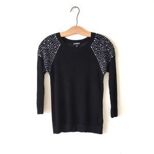 Express Black Sweater size: S/P